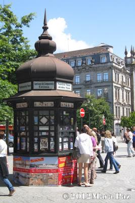 a Porto kiosk