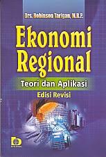 toko buku rahma: buku EKONOMI REGIONAL, pengarang robinson tarigon, penerbit bumi aksara