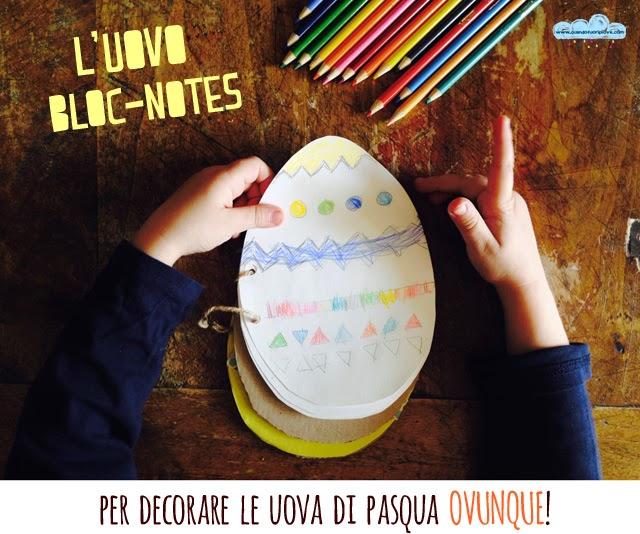 Quandofuoripiove l 39 uovo bloc notes per decorare le uova di pasqua ovunque - Decorare le uova per pasqua ...