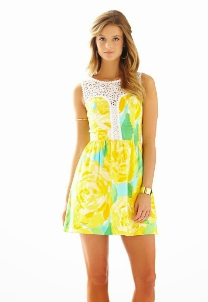 lilly pulitzer raegan fit and flare dress first impressions