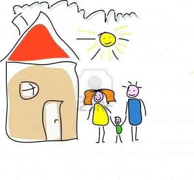 Il tempo delle mamme dove c 39 famiglia c 39 casa for Disegno di una casa