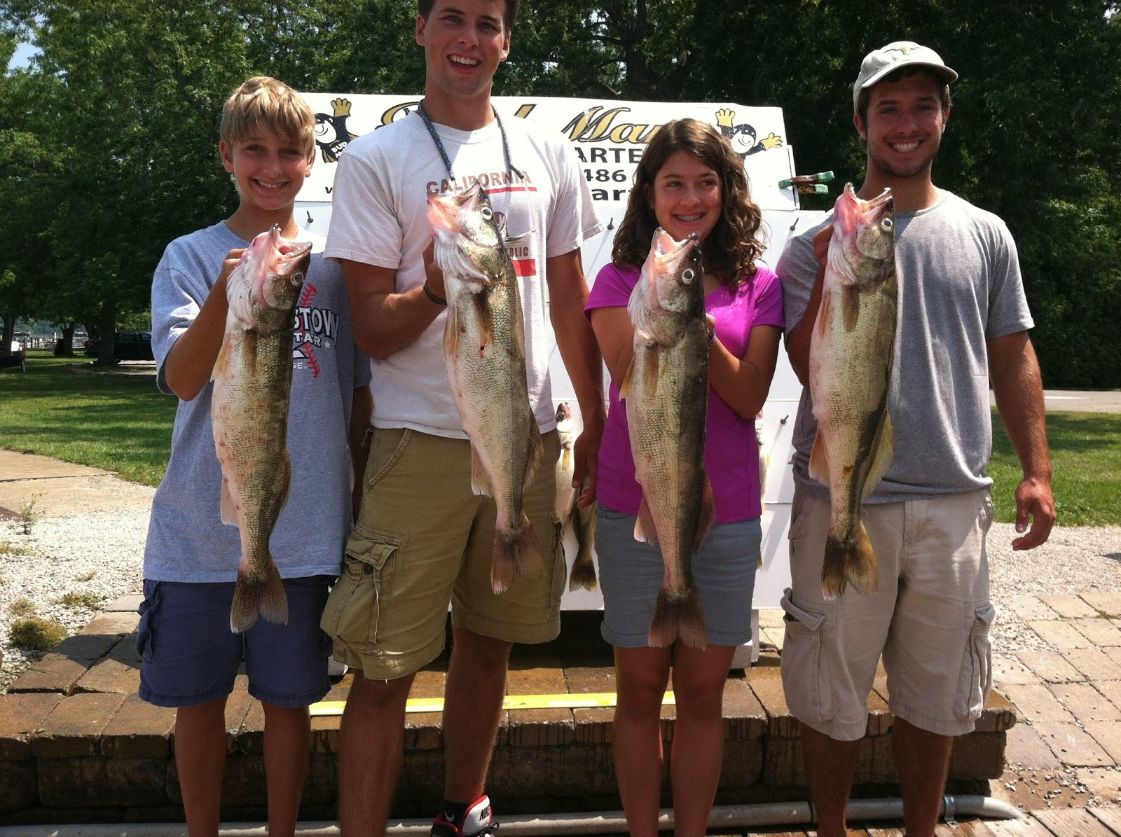 Lake erie walleye fishing reports east of middle island 7 21 for Odnr fishing report