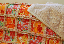 Minky Rag Quilt