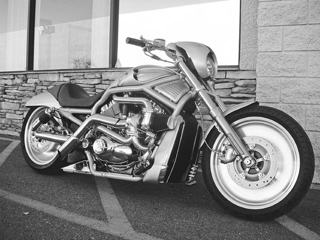 Bike Harley Davidson V Rod