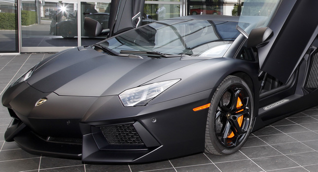 Attractive Lamborghini Sues Las Vegas Business