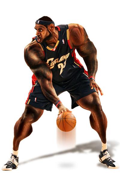 Caricaturas Lebron James NBA TSEBA