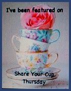 I was featured at Have A Daily Cup of Mrs Olson  Thank you, Jann