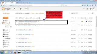 Tahap Pembuatan Blog Keenam
