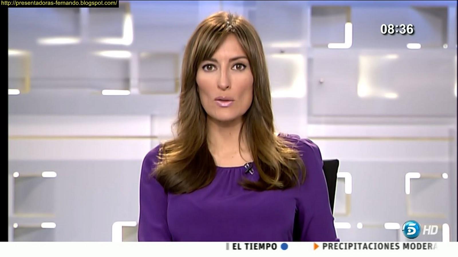 Leticia Iglesias Informativos Telecinco 22-2-2013