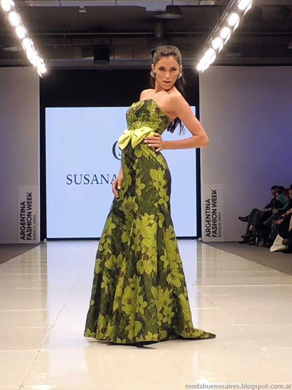 Susana Ortiz primavera verano 2015. Desfile Argentina primavera verano 2015.