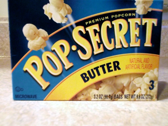 Pop Secret regular butter flavored popcorn MyWAHMPlan.com