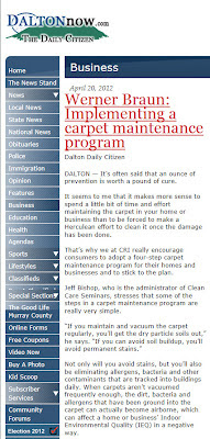 The 4 Step Carpet Maintenance Program