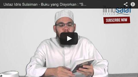 """Ustaz Idris Sulaiman – Buku yang Disyorkan : """"Solat Tarawih"""" & """"Qiyam Ramadan"""" Tulisan Syaikh Albani"""