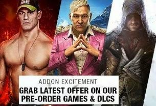 Pre-Order Biggest PC/ PS3/ PS4/ Xbox1 Games with Bonus Offers @ Flipkart
