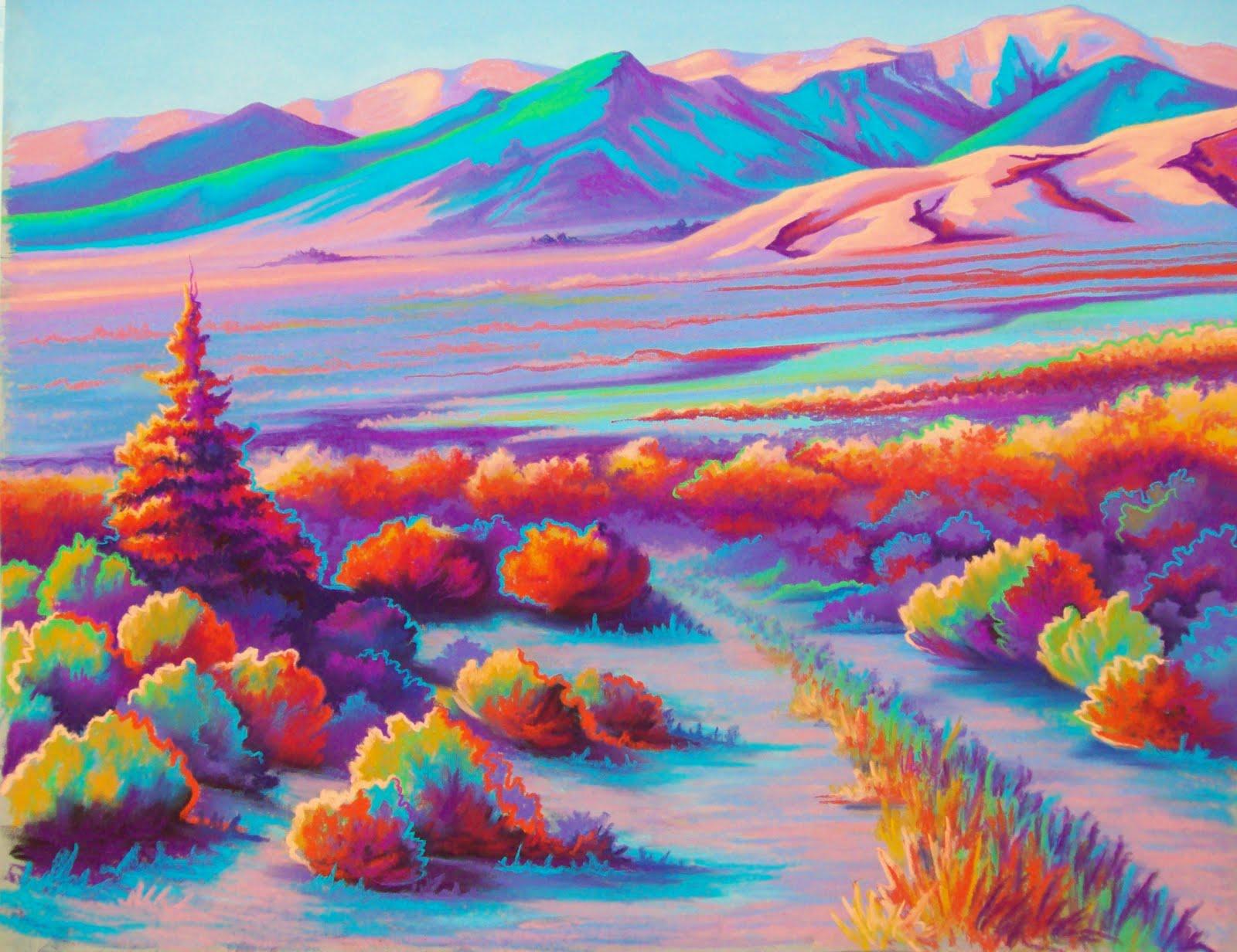 Laramie Art Guild Vibrant Panorama