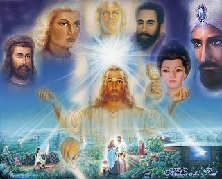 ascended master Agama-agama penganut UFO di dunia