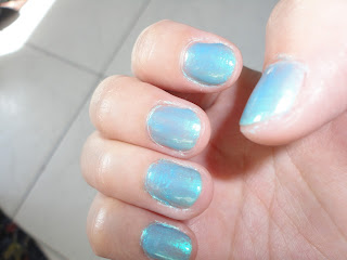 Nails of the Week #3: Icy Blue @ Beauty Bunker