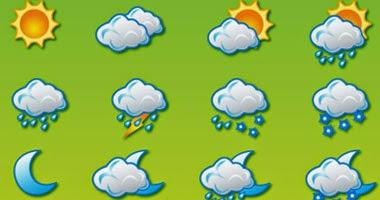 حالة الطقس ودرجات الحرارة المتوقعة غدا الجمعة 2/5/2014 على محافظات ومدن مصر