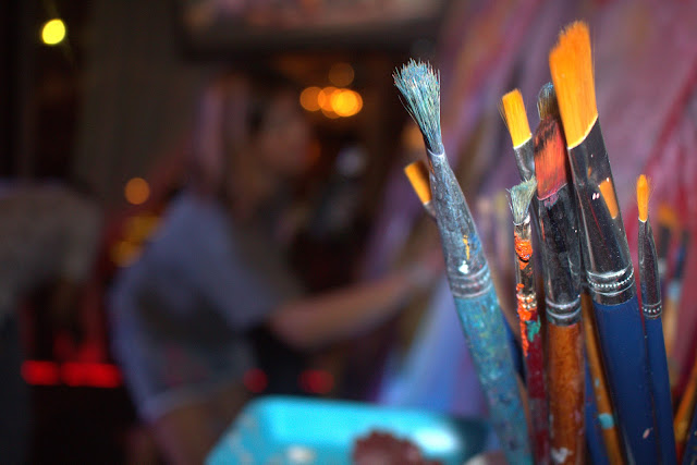 Live painting au Riverhouse Lounge