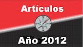 Publicaciones Año 2012