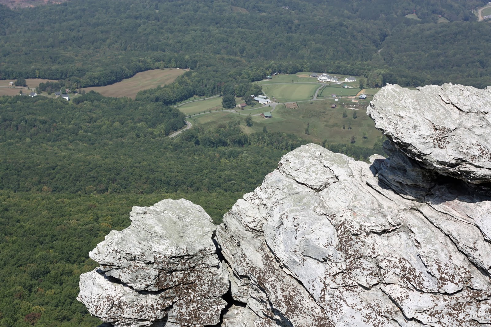 Stone Mountain Nc Elevation Gain : A is for adventure hiking at hanging rock state park