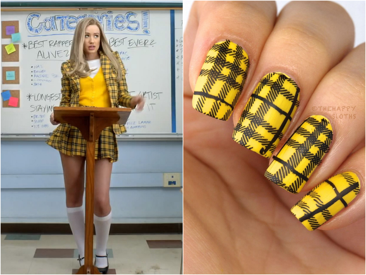 iggy azalea fancy clueless nail art