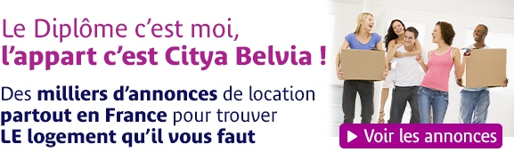 Location etudiants Citya Belvia Immobilier