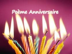 Belle Collection de Poème Anniversaire