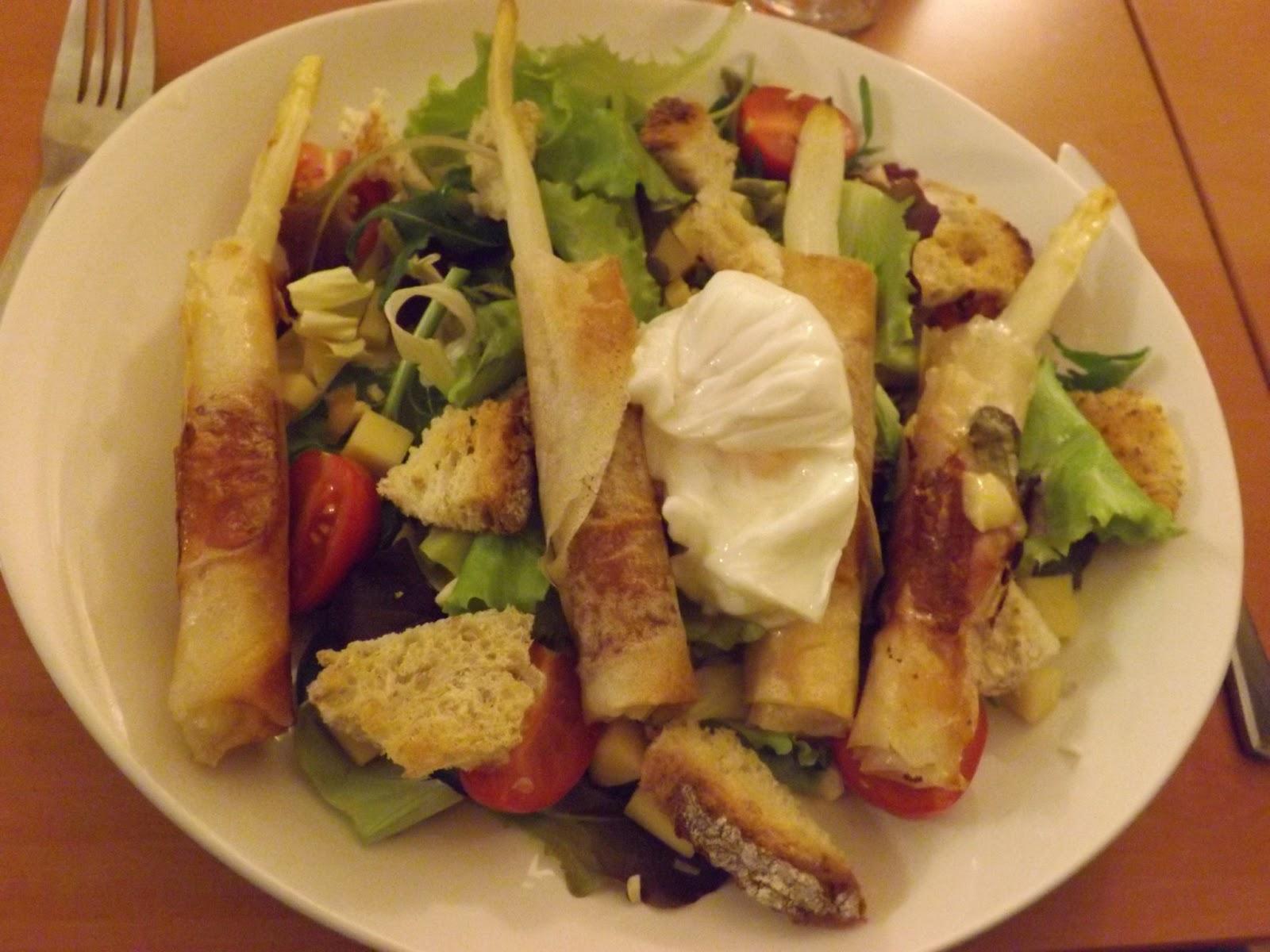 Celle qui cuisinait ou le plaisir de cuisiner salade - Cuisiner des asperges fraiches ...