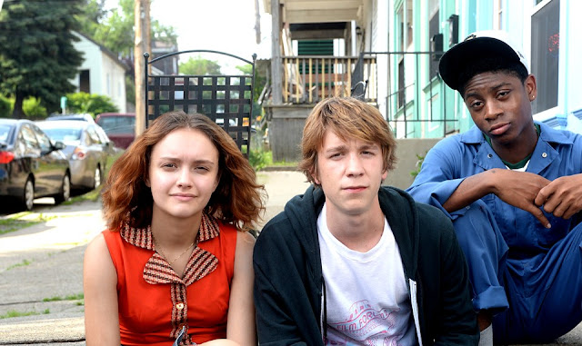 This is a sappy movie about Greg and Earl and the Dying Girl