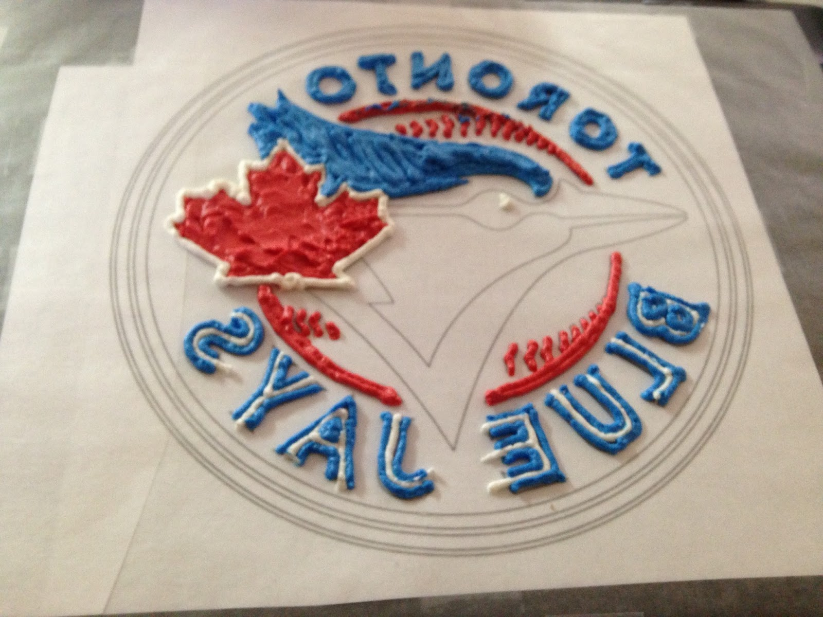 Blue Jays Cake Images : Crafting Baker: Toronto Blue Jays Birthday Cake