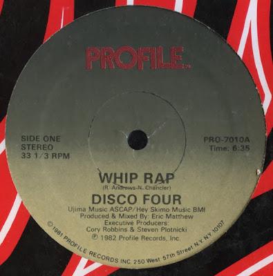 Disco Four - Whip Rap / Let It Whip (VLS) (1982) (FLAC + 320 kbps)