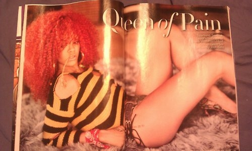 rihanna rolling stone shoot. Rihanna On Rolling Stone