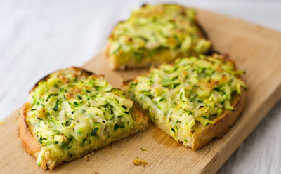 http://estherschultz.com/2015/12/26/zucchini-cheese-on-toast/