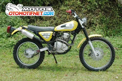 Modifikasi Yamaha Scorpio Jadul Minimalis