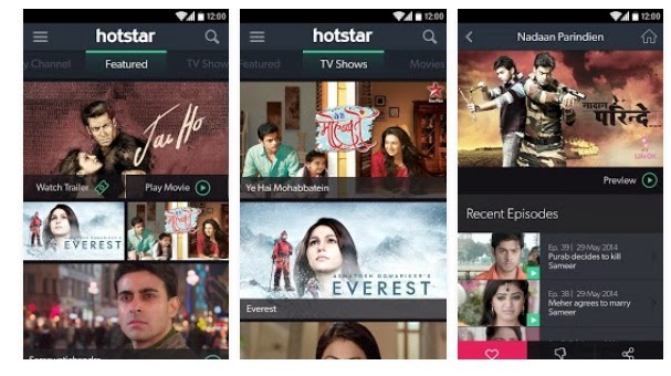 hotstar watch tv shows app download