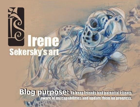 Irene Sekersky's art