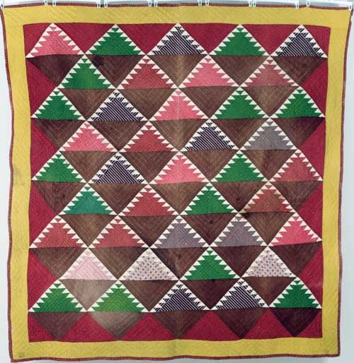 Piecing the Past Quilts: Saturday at the Quilt Museum - Delectable ... : delectable mountain quilt - Adamdwight.com
