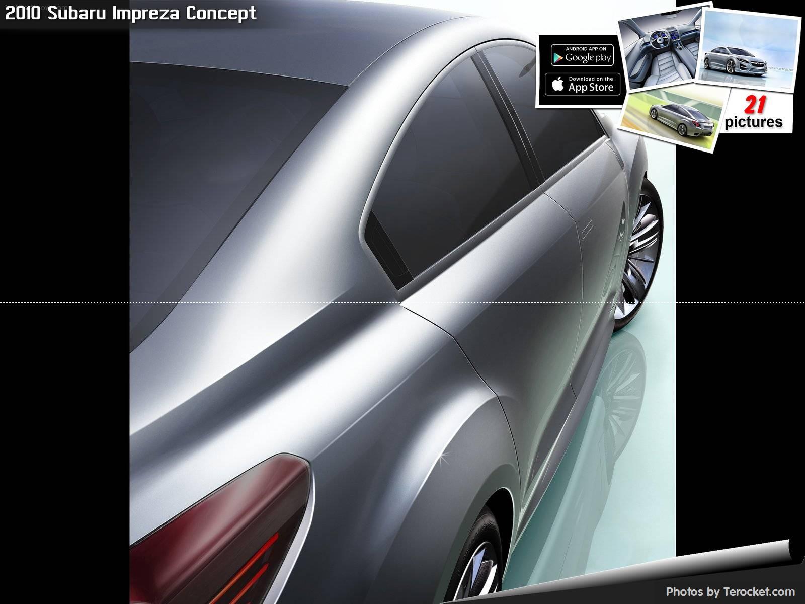 Hình ảnh xe ô tô Subaru Impreza Concept 2010 & nội ngoại thất