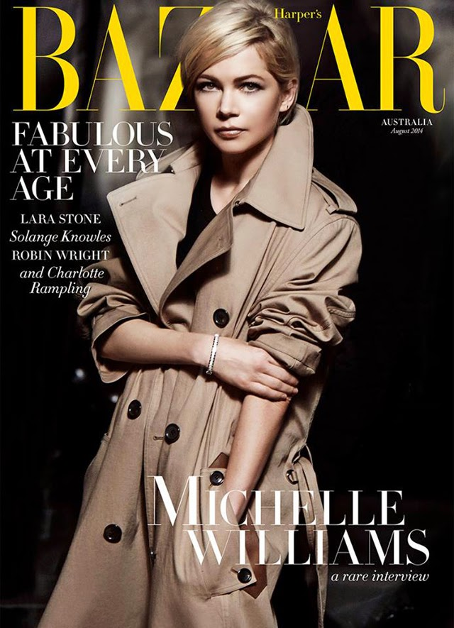 Michelle Williams trench coat