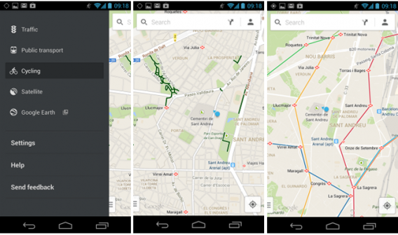 Google lança Maps 7.0