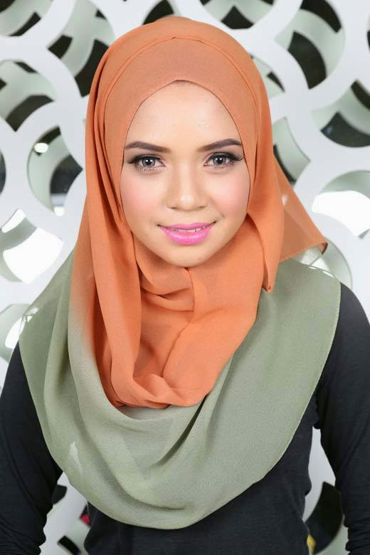 Foulard hijab fashion