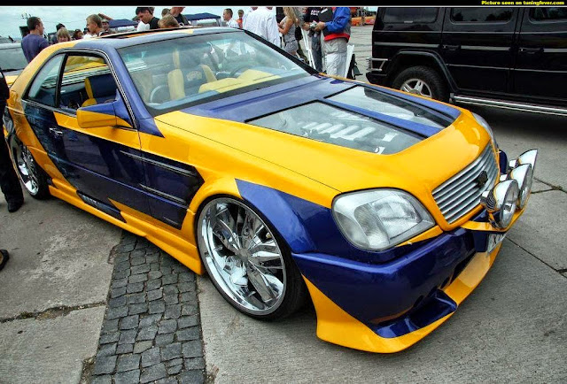 mercedes c140 cl600 tuning