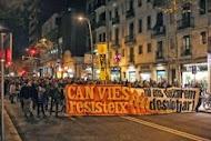 EN SOLIDARIDAD CON CAN VIES Y LA DIRECTA, NO A LA REPRESIÓN CONTRA LOS MOVIMIENTOS SOCIALES
