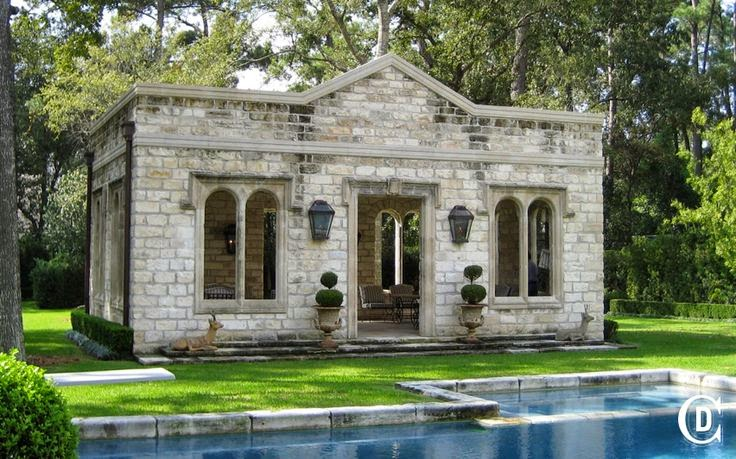 This Photo Via Chateau Domingue Offers A Slightly Different View Of The  Pavilion.