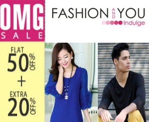 Apparels, Footwears & Accessories 68% off + Free Shipping @ Fashionandyou