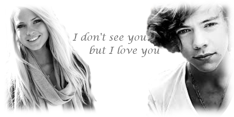 I don't see you, but I love you [Befejezett.]