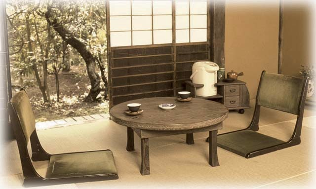 Translation Tea Table Cool Looks Similar To A Regular Japanese Low Excepttheyre Mostly Round And Kinda Intended For