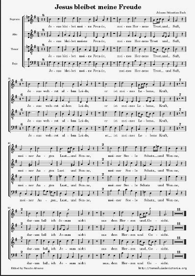 http://www.uma.es/victoria/varios/pdf/Bach-Jesus_Bleibe_Meine_Freude.pdf