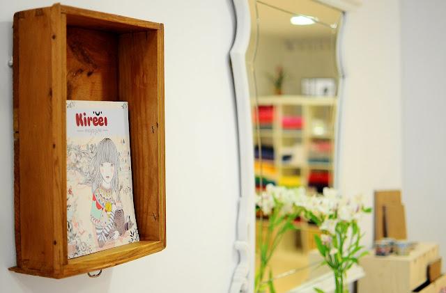 Kireei magazine, Rocío Salguero, Violín Cantarín